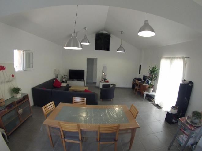 APRES séjour 40m² entièrement rénové
