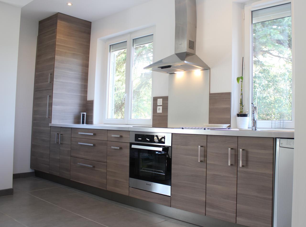cr ation cuisine dans ancienne v randa. Black Bedroom Furniture Sets. Home Design Ideas