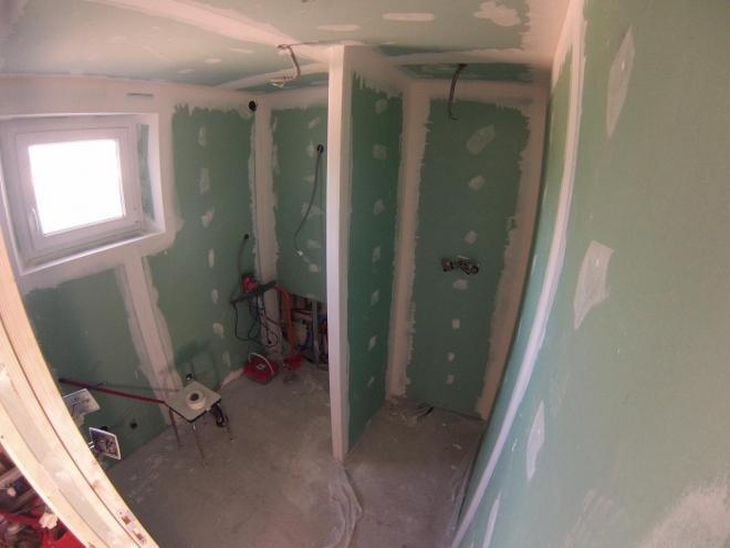Renovation salle de bain PENDANT