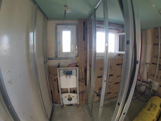 Rénovation WC PENDANT