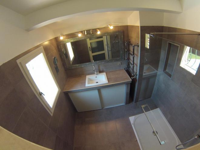 Les salles de bains et wc for Salle de bain avec wc suspendu